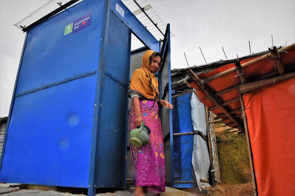 BioFil Toilets in Cox's Bazar